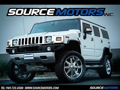 2008 Hummer H2 Base Sport Utility 4-Door 2008 Hummer H2 SUV Lifted, Chrome Wheels, Navigation, Loaded 4x4