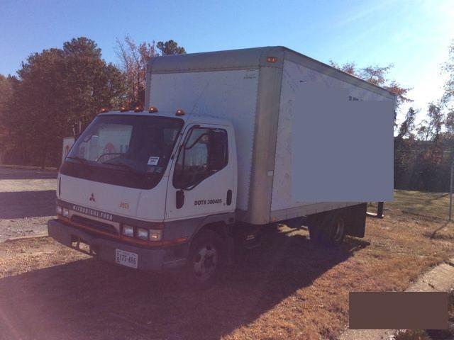 2003 Mitsubishi Fuso Fe  Box Truck - Straight Truck