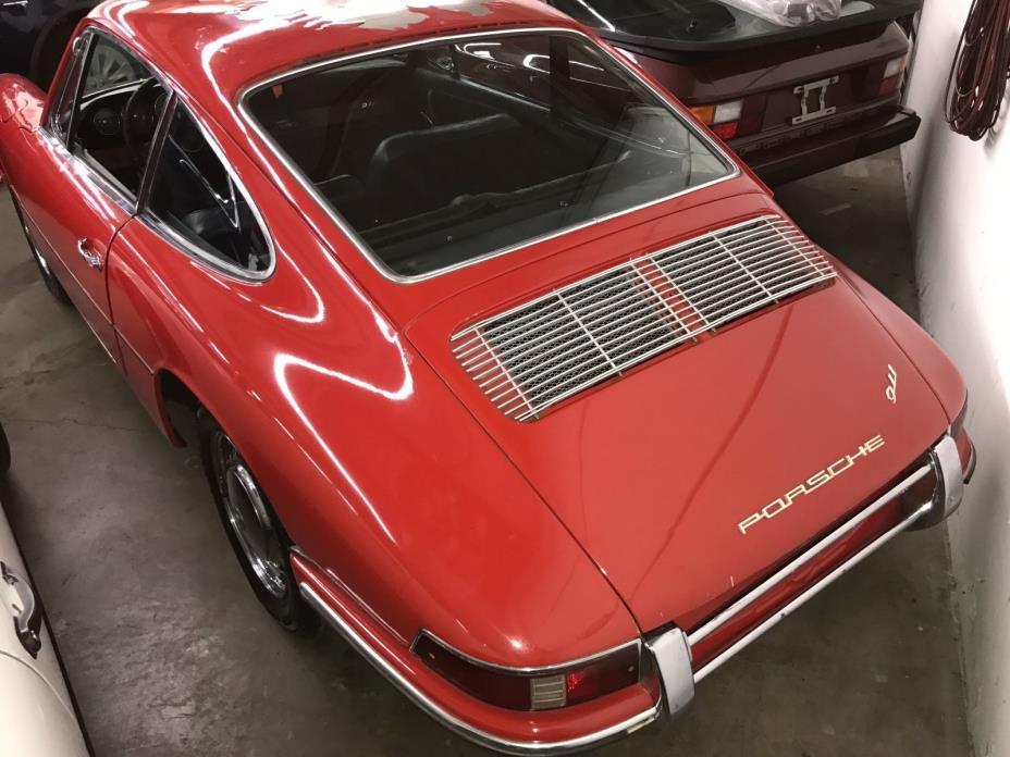 Classic Timeless Porsche 912 Red Car Decal Car Stiker