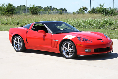 2011 Chevrolet Corvette Grand Sport Coupe 2-Door 2011 C-6 Grand Sport
