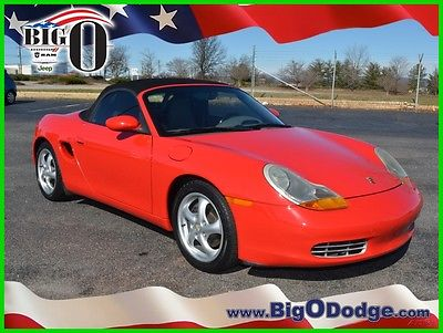 2000 Porsche Boxster Roadster Convertible 2-Door 2000 Used 2.7L H6 24V Automatic RWD Convertible Premium