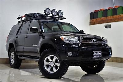 2008 Toyota 4Runner Sport TOYOTA 4 RUNNER SPORT LIFTED 4WD LOCKING DIFFERENTIAL ROOF RACK SUPER CLEAN