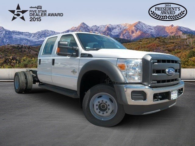 2015 Ford F550 Cab Chassis