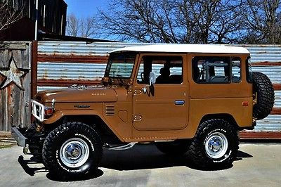 1979 Toyota Land Cruiser  '79 FJ40~Olive Brown~Freshly Restored~New Interior~Excellent Example