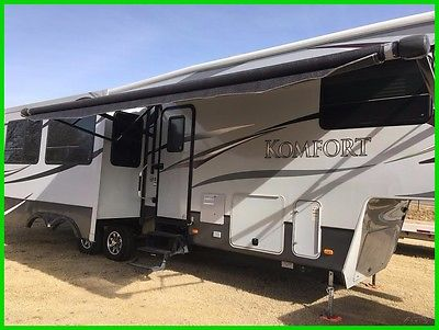 2012 Dutchmen Komfort 3130FRL Used, Fifth Wheel, Fireplace, 3 Slide Outs,