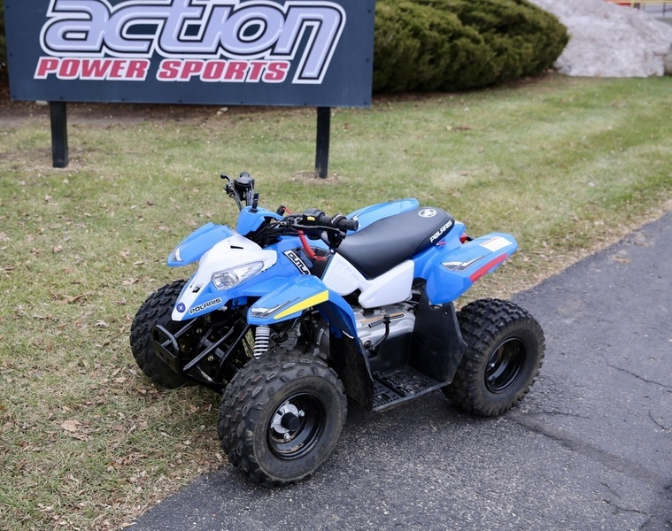 2015 Polaris Outlaw 50 Voodoo Blue