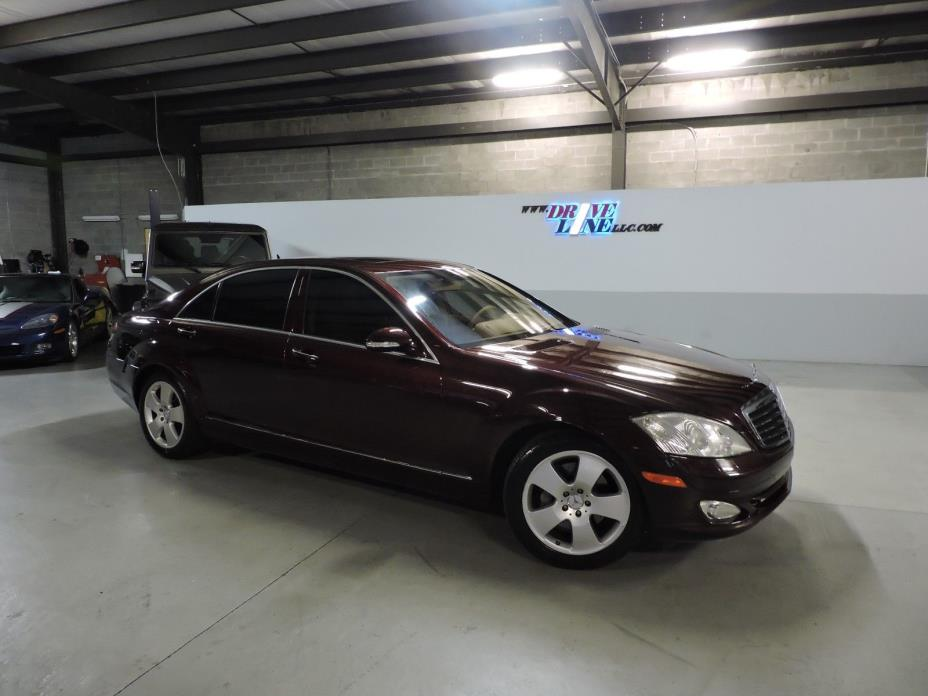 2007 Mercedes-Benz S-Class Sedan 4-Door 2007 Mercedes-Benz S550, WE HAVE 2 to CHOOSE FROM!! Identical color combination!