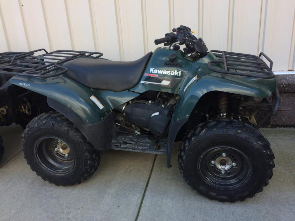 2007 Kawasaki Prairie 360 4x4 Motorcycles for sale