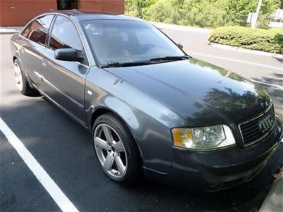 2004 Audi A6 Base Sedan 4-Door 2004 Audi A6 3.0 Automatic 4-Door Sedan