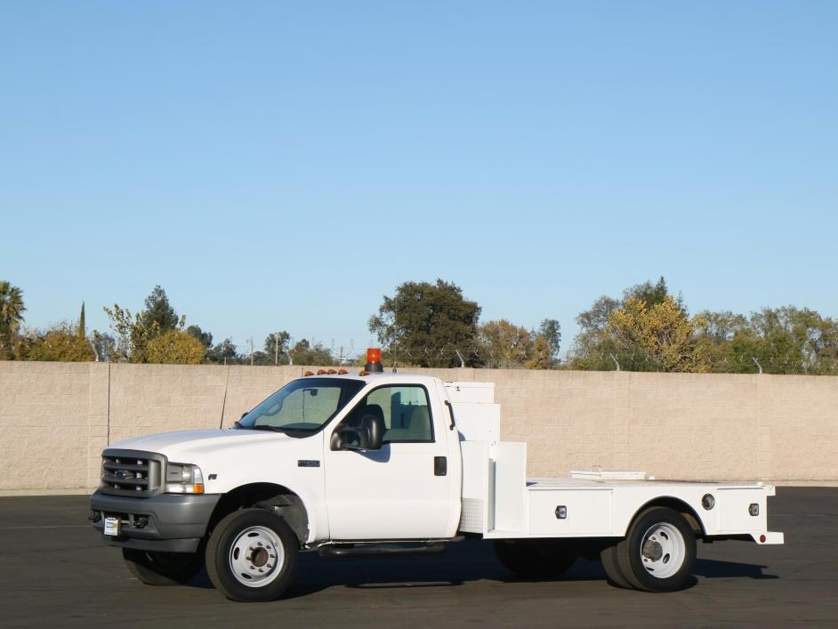 2001 Ford F450 Sd  Utility Truck - Service Truck