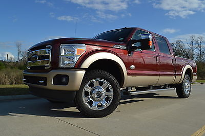 2012 Ford F-250 King Ranch 2012 Burgundy King Ranch!