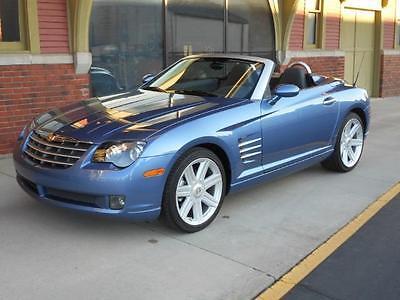 2006 Chrysler Crossfire Limited Convertible 2-Door 291 MILES! 2006 CROSSFIRE LIMITED CONVERTIBLE MUSEUM QUALITY 100% AS NEW