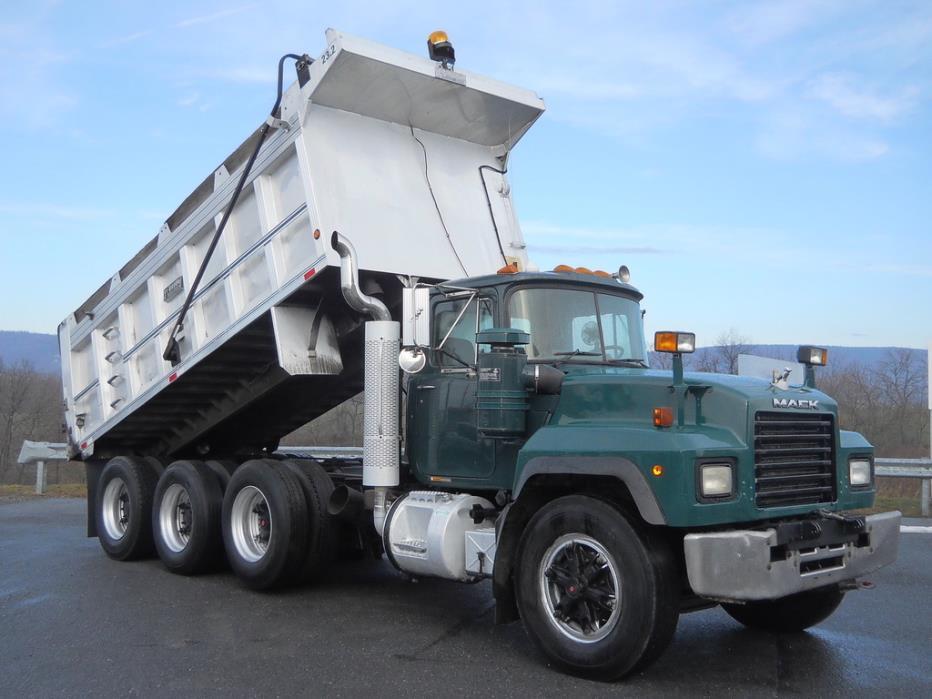 1998 Mack Rd690s Dump Truck