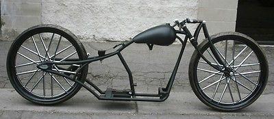 2017 Custom Built Motorcycles Bobber  MMW SUPER AIR GIRDER 30,30 BOARDTRACK RACERS ....INSANE