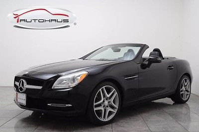 2014 Mercedes-Benz SLK-Class Base Convertible 2-Door Panorama Warranty Becker Navi