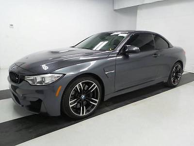 2016 BMW M4 Base 2dr Convertible 2016 BMW M4**FLAWLESS CONDITION**Adaptive M Suspension**CARBON FIBER*over $87K