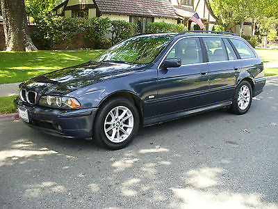 2002 BMW 5-Series Blue Gorgeous California Rust Free BMW 525i Station Wagon  Great Condition   MUST SEE