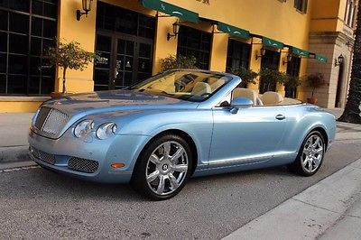 2008 Bentley Continental GT GTC Convertible 2-Door 2008 Bentley GTC Convertible Massage heated seats chrome wheels 1 Owner Car