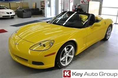 Chevrolet: Corvette Convertible 3LT Z51 2008 Corvette Convertible. Z51 Performance pack. Ultra low mileage!!!