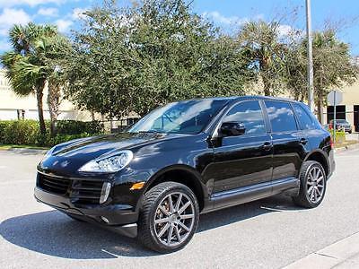 2009 Porsche Cayenne S Sport Utility 4-Door 2009 Porsche Cayenne S - 1 OWNER, FLORIDA, LOADED!!