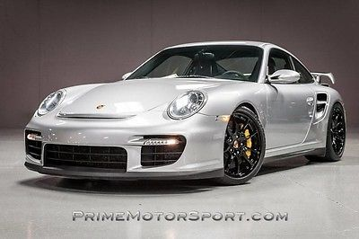 2008 Porsche 911 2008 PORSCHE 911 GT2 SPORT CHRONO BOSE GT SILVER SERVICED PRISTINE