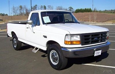 1996 Ford F-250 1-OWNER 93K FUEL INJ 4.9L INLINE 300 6CYL XL F250 UPER-CLEAN-ROCK-SOLID-NO-RUST-COLD-AC-HEAVY-DUTY-3/4-TON-REG-CAB-HAULER-A-NEAT1