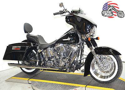 2000 Harley-Davidson Softail 2000 Harley Davidson Heritage Softail Classic FLSTC Deluxe Street Glide Setup