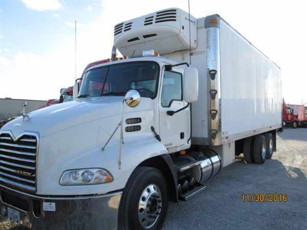 2008 Mack Cxu603 Refrigerated Truck