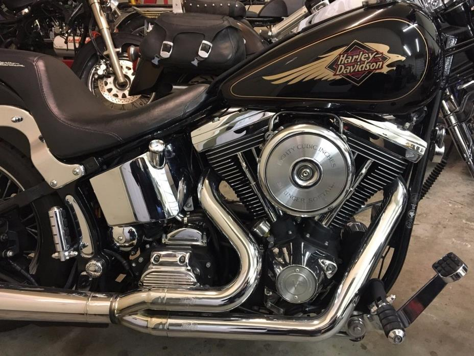 1997 Harley-Davidson Softail  1997 Harley Davidson FXSTS Springer with only 10557 miles on the odometer