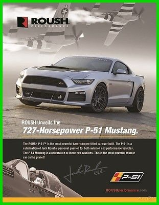 2017 Ford Mustang Stage 3 P51 2017 Roush P51 Limited Edition 727HP Mustang RS3 Coupe Hellcat Shelby GT500 Kler