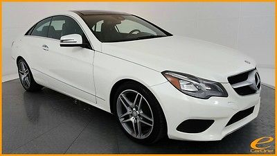 2014 Mercedes-Benz E-Class E350 Coupe 4MATIC | AMG SPORT | P1 | NAV | BLIND S Mercedes-Benz E-Class Diamond White Metallic with 48,403 Miles, for sale!