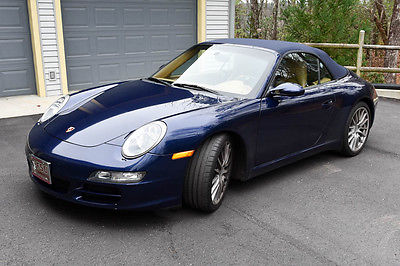 "2005 Porsche 911 Carrera S Convertible 2-Door 2005 911 ""S"" Porsche Carrera Cabriolet 84k mi well maintained above average"