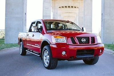 2008 Nissan Titan PRO-4X 4x4 CLEAN LEATHER LOADED FLORIDA NO RUST 2008 PRO-4X EXCELLENT 4x4 LEATHER LOADED FLORIDA NO RUST