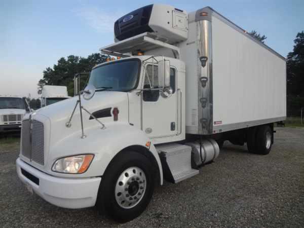 2012 Kenworth T270 Refrigerated Truck
