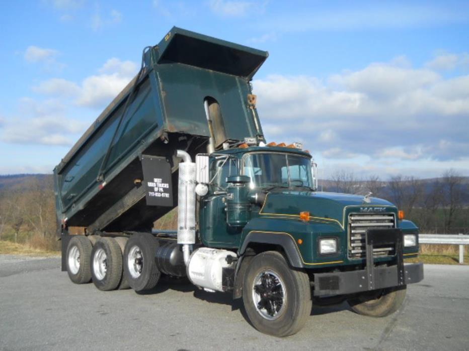1993 Mack Rd690p Dump Truck