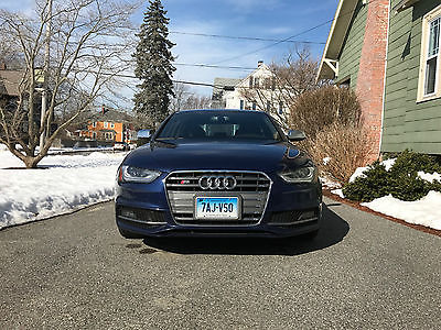 2013 Audi S4 Prestige 2013 Audi S4 3.0T Prestige 6 Speed Manual Stunning Estoril Blue