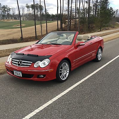 2008 Mercedes-Benz CLK-Class Convertible 2008 Mercedes CLK 350 Convertible Sports Package Extras Gorgeuous Car No Reserve
