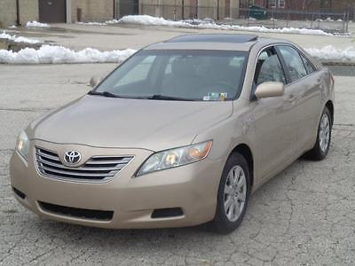 2008 Toyota Camry -- 2008 Toyota Camry Hybrid LOADED NAV LEATHER SUNROOF SERVICED LOOK!