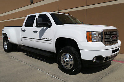 2012 GMC Sierra 3500 DENALI CREW CAB DUALLY LONG BED 4WD 2012 GMC SIERRA 3500HD DENALI CREW CAB DRW 6.6L DIESEL 4WD NAVI CAM ROOF 1OWNER