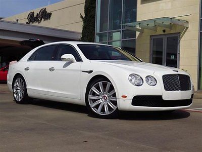 2015 Bentley Flying Spur 2015 Sedan Used Twin Turbo Premium Unleaded V-8 4.0 L/244 Automatic AWD White