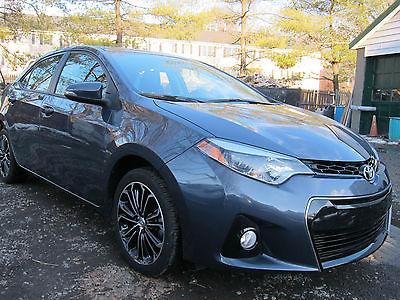 2014 Toyota Corolla S Plus Sedan 4-Door TOYOTA COROLLA S SPORT 2014 EASY DAMAGE REPAIRABLE SALVAGE 11,000 MILES!