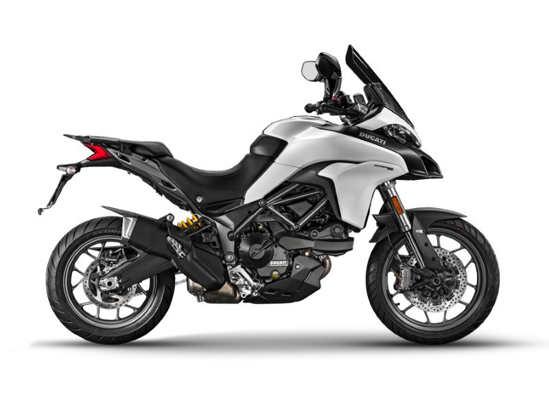 ducati multistrada 950 star white silk motorcycles for sale. Black Bedroom Furniture Sets. Home Design Ideas