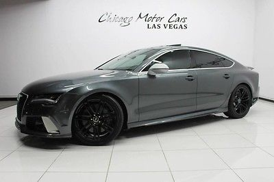 2014 Audi RS7 2014 Audi RS7 Quattro Hatchback MSRP $114k+ Innovation PKG Driver Assistance PKG