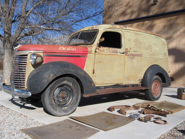 1940 Chevrolet Other Pickups  1940 Chevrolet Panel Truck - Many NOS parts incl. fenders  Solid Project Truck
