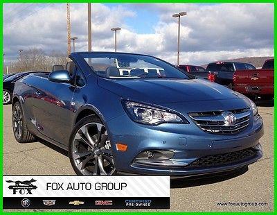 2017 Buick Other Premium Convertible $37,385 MSRP *NEW* Cascada Premium Convertible ~Deep Sky Metallic #9549N
