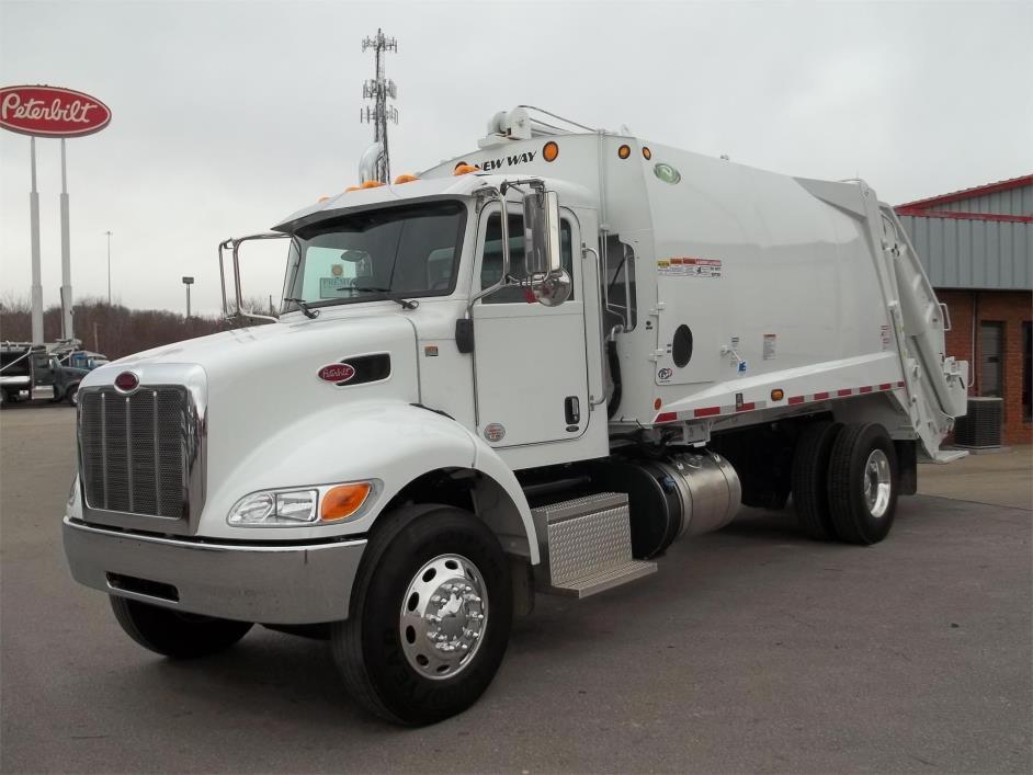 2017 Peterbilt 337 Garbage Truck
