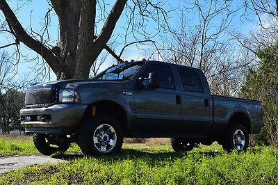 2002 Ford F-250 XLT, 4-Door Loaded 02 Ford F250 7.3L Turbo Diesel, 4X4 Off Road, Navigation, Camera, 3