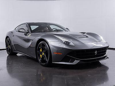2016 Ferrari F12berlinetta -- 2016 Ferrari F12berlinetta  Grigio Ferro Ferrari CPO