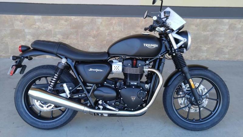 Triumph Bonneville T120 Jet Black Motorcycles For Sale