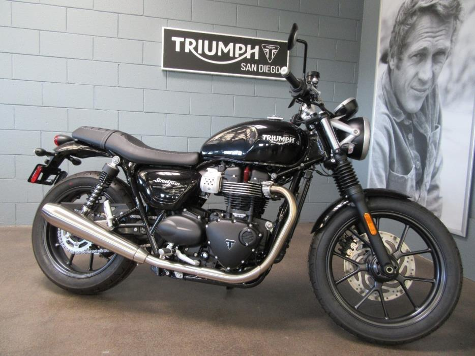 triumph street twin motorcycles for sale in san diego california. Black Bedroom Furniture Sets. Home Design Ideas